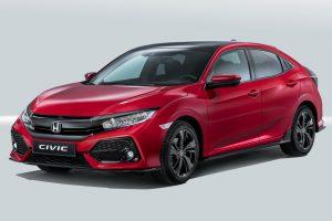 Honda Civic une voiture compacte avec grand coffre